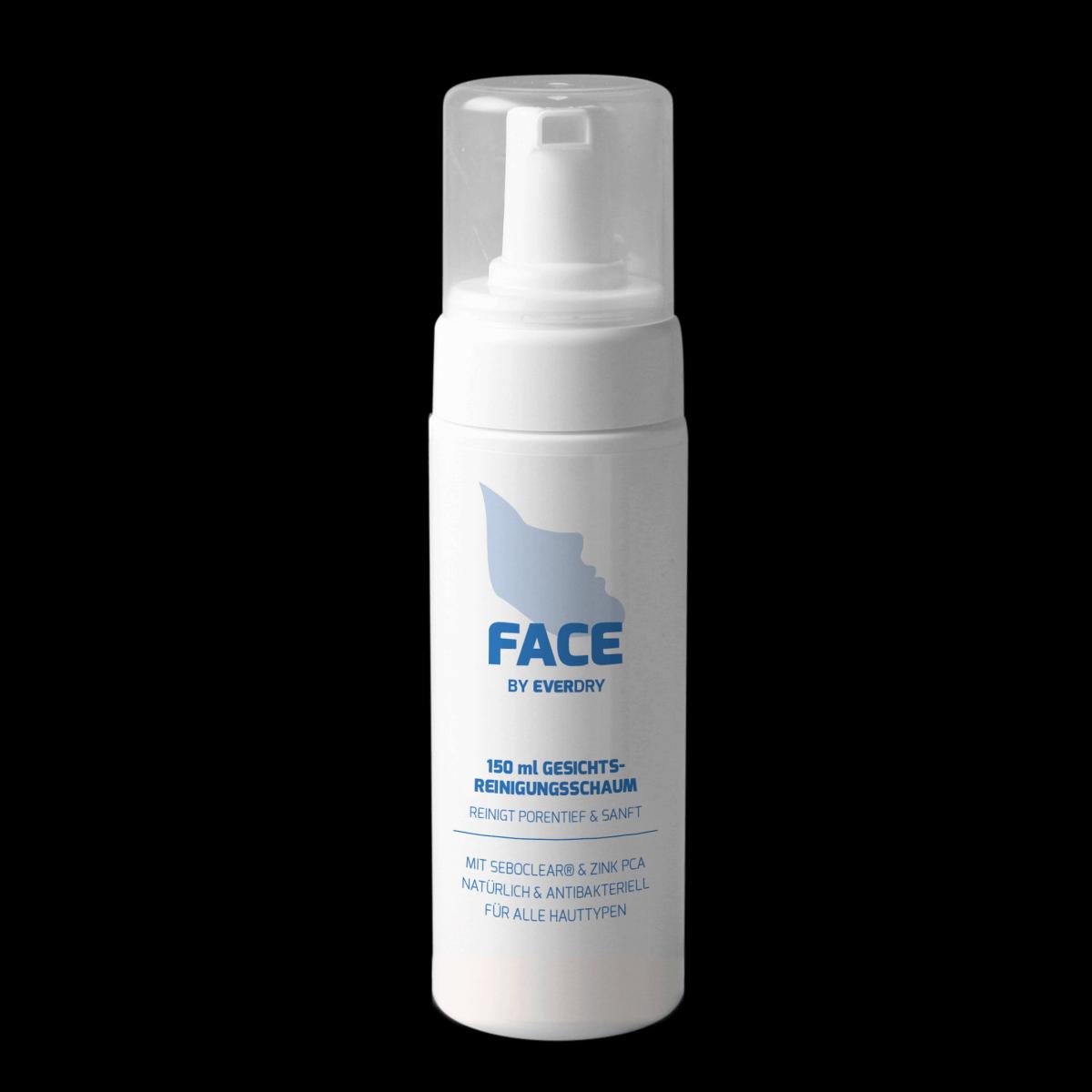 EVERDRY Antibakterieller Gesichtsreinigungsschaum 150ml