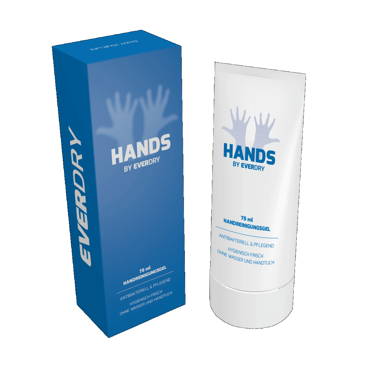 EVERDRY Antibakterielles Handreinigungsgel 75ml
