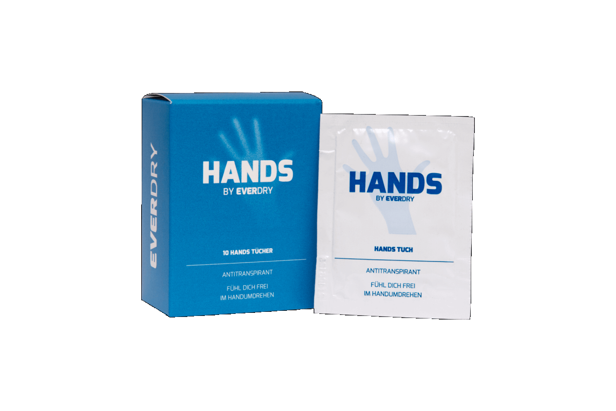 EVERDRY Antitranspirant Hands Tücher
